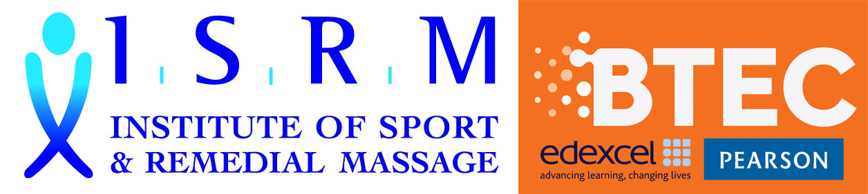 BTEC and ISRM logos